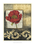 Poppy Poetry II Prints by Jennifer Goldberger
