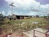 Utility Buildings at the People's Temple Agricultural Project, in Jonestown, Guyana, 1978 Photo