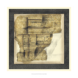 Antique Capitals III Giclee Print by Jennifer Goldberger