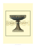 Antica Clementino Urna I Print by  Vision Studio