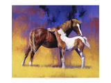 Painted Premium Giclee Print by Julie Chapman