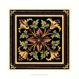Crackled Decorative Tile Design I Giclee Print by Vision Studio