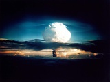 The Mike Shot, Was the First Successful Full-Scale Test Hydrogen Bomb, on Oct 31, 1952 Foto