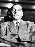 Mob Boss, Frank Costello in the Witness Chair Photo