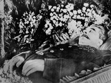 Joseph Stalin, Lying in State in Hall of Columns, of the House of Unions, Moscow, March 1953 Photo