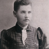 Willa Cather When She Was a Student at the University of Nebraska, ca 1895 Posters