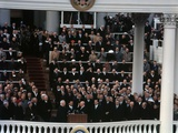 Eisenhower's Second Inauguration Photographic Print