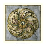 Rosette and Damask III Giclee Print by Jennifer Goldberger