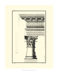 Crackled B&W Column and Cornice III Premium Giclee Print by Giovanni Borra