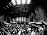 Fish-Eye View of Trading Floor of New York Stock Exchange on its 175th Anniversary, May 17, 1967 Photographic Print
