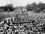 Thousands Witness the Public Hanging of African American, Rainey Bertha, Age 22 Poster