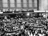 New York Stock Exchange During Heavy Trading on Oct 23, 1962 Photographic Print