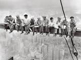 Lunch Atop Skyscraper, Rockefeller Center, 1932 Posters par Charles C. Ebbets