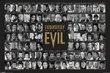 James Bond Villains - Exquisitely Evil Posters
