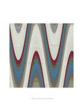 Radio Waves II Kunstdrucke von Ricki Mountain