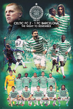 Celtic FC - Barcelona Euro Night To Remember Posters