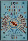 422. Verdensmesterskab i Quidditch, på engelsk Poster