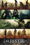 Injustice: Gods Among Us - Banners Pôsters