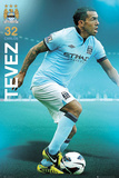 Carlos Tevez - Manchester City Affiches
