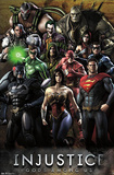 Injustice: Gods Among Us - Grid Print