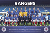 Rangers FC 2012/13 Team Photo Posters