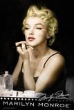 Marilyn Monroe Lipstick Prints