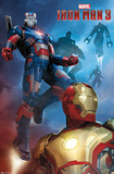 Iron Man 3 - Patriot Comic Prints