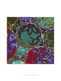 B-Jeweled Deco II Prints by Ricki Mountain