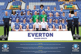 Everton FC 2012/13 Team Photo Posters