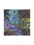 B-Jeweled Deco III Art by Ricki Mountain