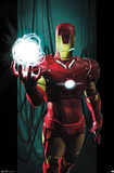 Iron Man - Energy Comic Posters