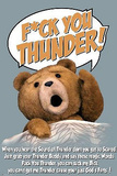 Ted - F@k You Thunder Print