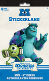 Monsters University Stickerland Pad Stickers