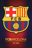 FC Barcelona Club Crest - Poster