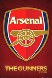 Arsenal FC The Gunners Club Crest Poster