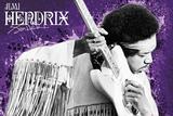 Jimi Hendrix - Purple Posters