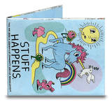 Stuff Happens Tyvek Mighty Wallet Wallet