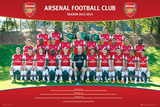 Arsenal FC 2012/13 Team Photo Print