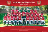 Arsenal FC 2012/13 Team Photo Prints