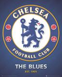 Chelsea FC - The Blues Club Crest Plakaty