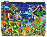 Peacock Zipper Pouch Zipper Pouch
