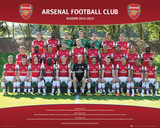 Arsenal FC 2012/13 Team Photo Prints