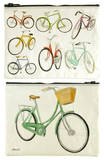 Bicycles Zipper Pouch Zipper Pouch