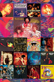 Jimi Hendrix - Album Covers Prints