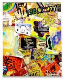 Graffiti Tyvek Mighty Case Tablet Laptop Case