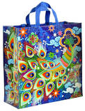 Peacock Shopper Tote Bag