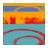 Surf's Up II Poster von Ricki Mountain
