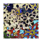 Bejeweled Woodblock I Premium Giclee Print by Ricki Mountain