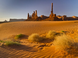 Mystery Valley, Monument Valley Navajo Tribal Park, Arizona, USA Photographic Print by Cathy & Gordon Illg