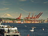 Sail-In Parade, Seattle, Washington, USA Reproduction photographique par Richard Duval